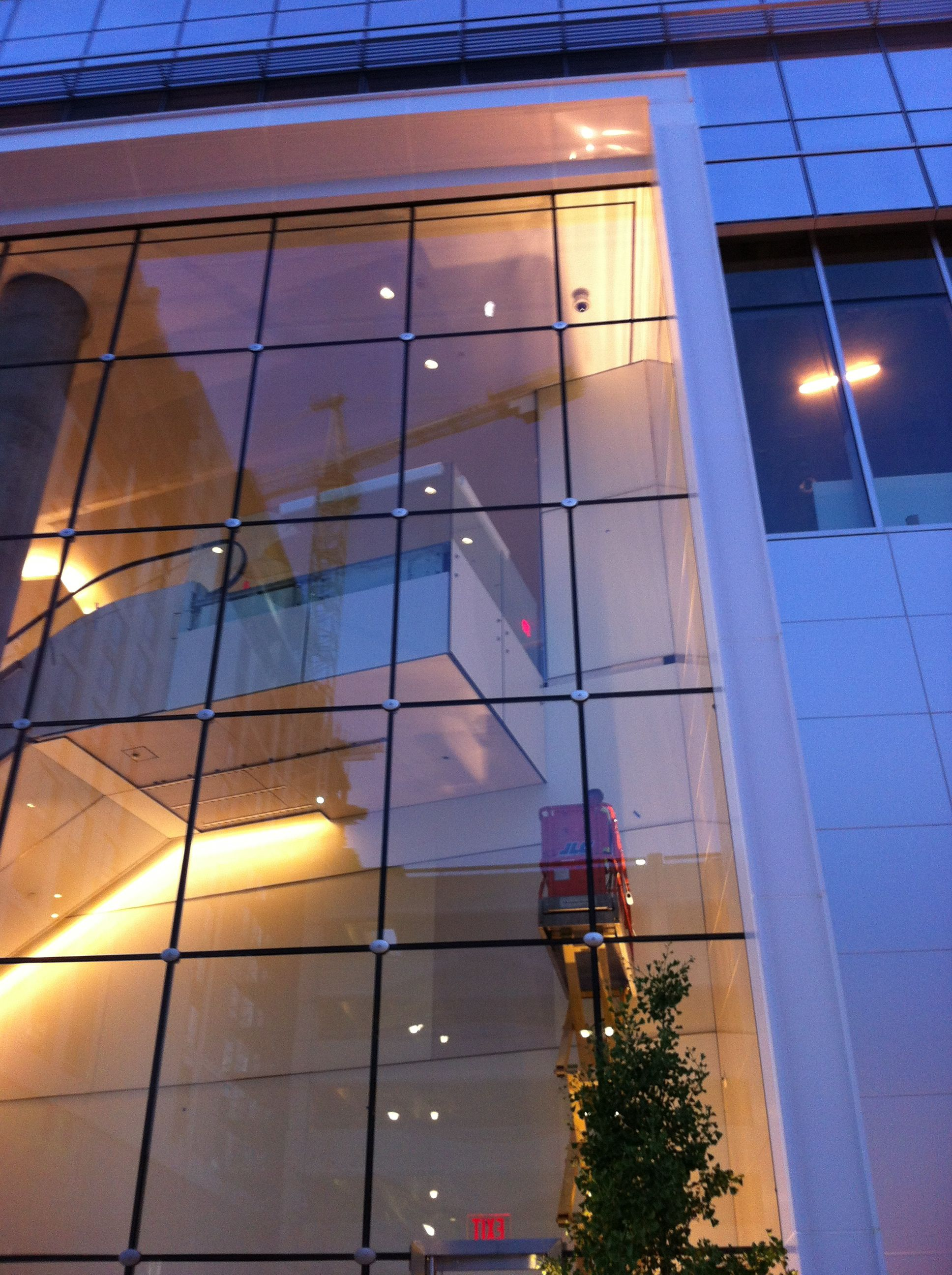 Commercial Window Tinting Installation In Fairfax County