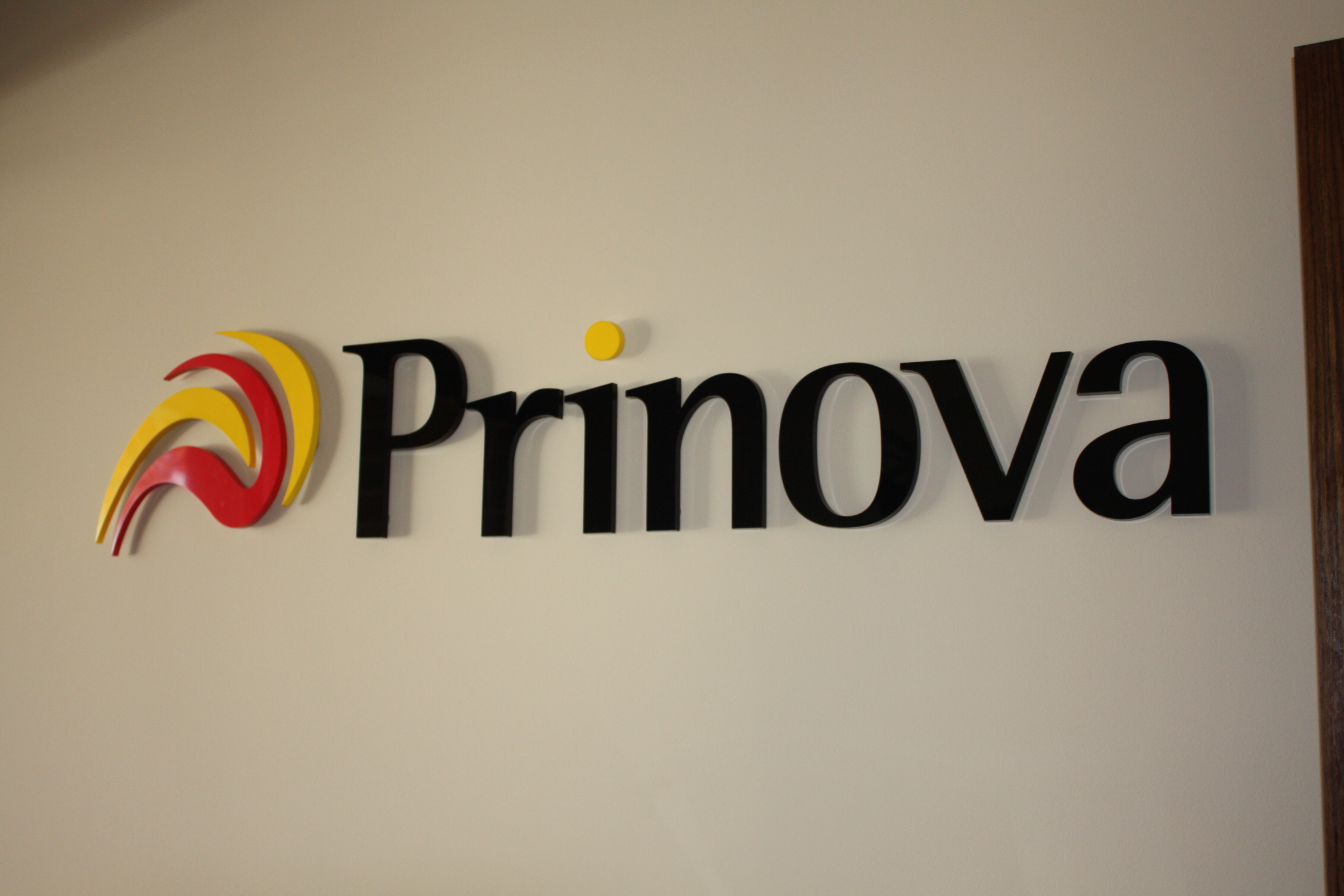 Acrylic Signs used for corporate identity