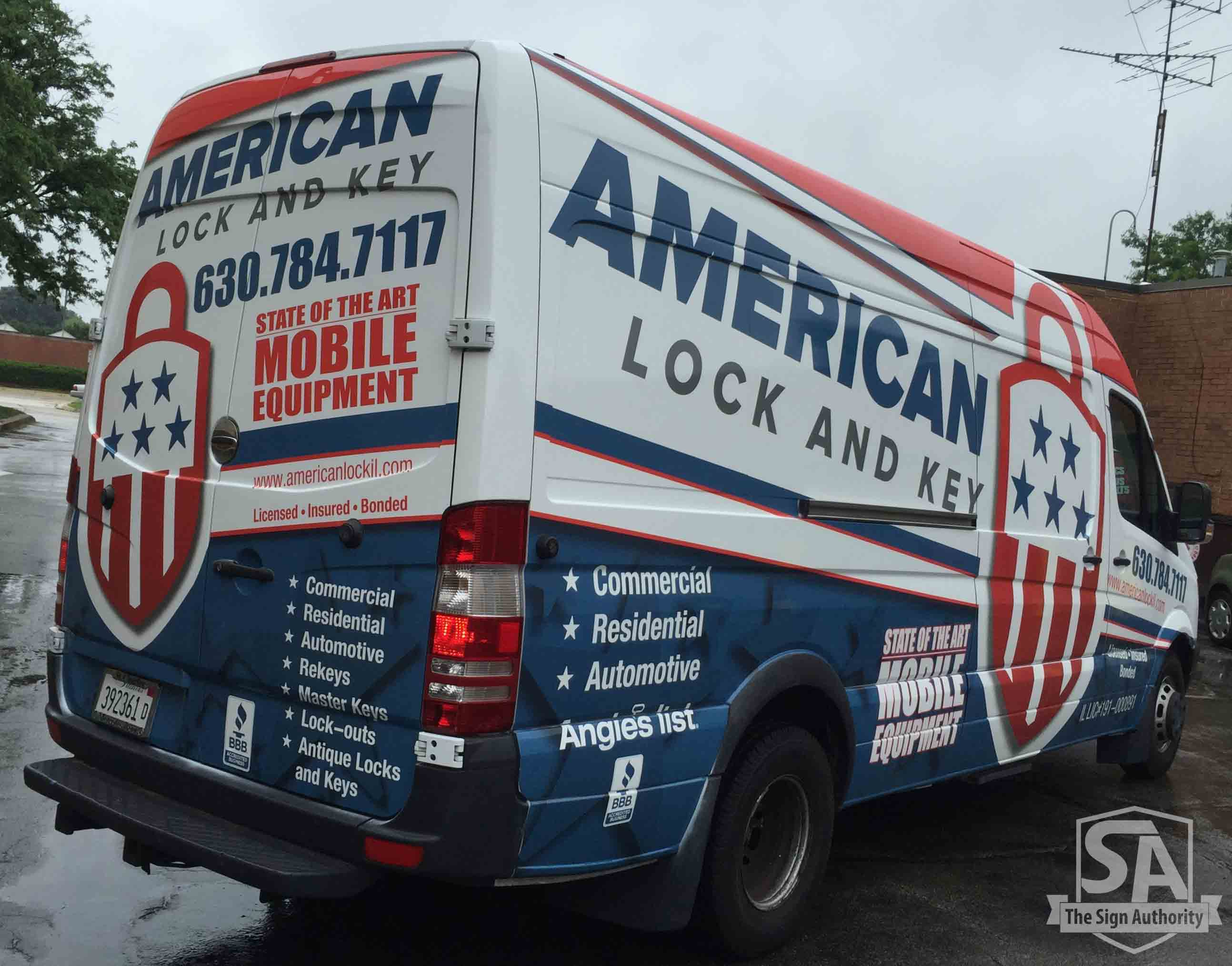 Van Wrap Vehicle Graphics In Wheaton Carol Stream Lisle