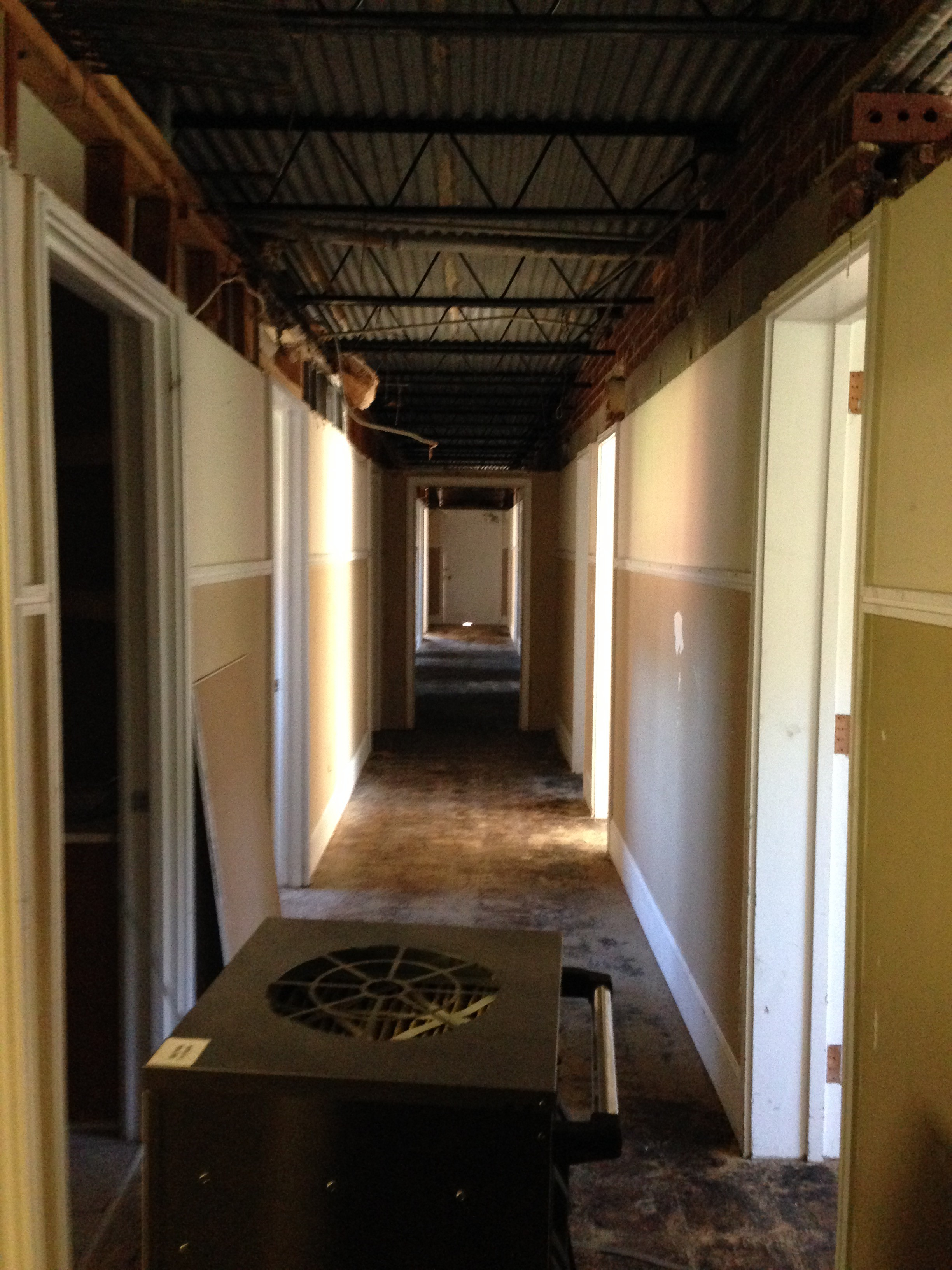 Mold Removal In A Commercial Building In Kernersville Nc