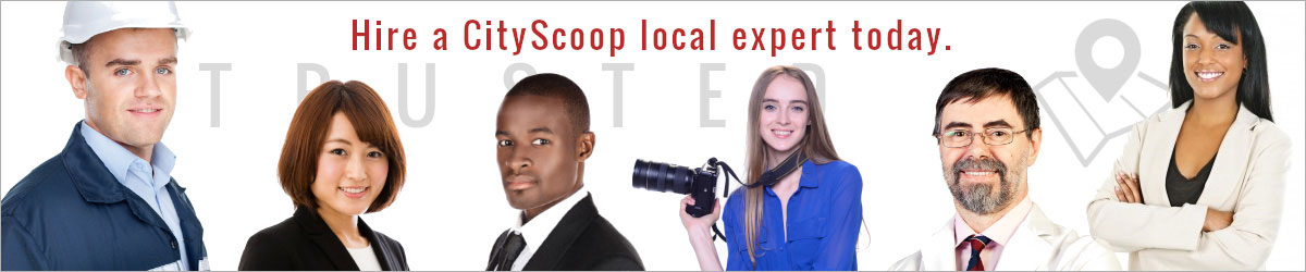 Hire a CityScoop local expert today.