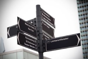 Wayfinding Signs Types